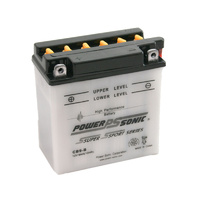 Power Sonic CB9-B 12v 130ccA 9ahr Conventional Motorbike Battery (YB9-B)