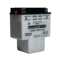 Power Sonic HCB16A-AB 12v 150ccA 16ahr Conventional Motorbike Battery