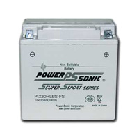Power Sonic PIX30HLBS-FS 12v 385ccA 30ahr Activated AGM Motorbike Battery