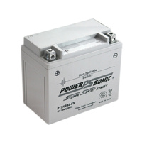 Power Sonic PTX12BS-FS 12v 180ccA 10ahr Activated AGM Motorbike Battery
