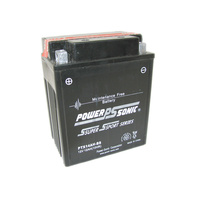 Power Sonic PTX14AH-BS 12v 200ccA 12ahr Sealed AGM Motorbike Battery