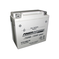 Power Sonic PTX14BS-FS 12v 200ccA 12ahr Activated AGM Motorbike Battery