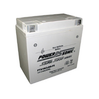 Power Sonic PTX19CLBS-FS 12v 270ccA 19ahr Activated AGM Motorbike Battery
