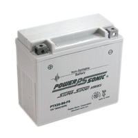 Power Sonic PTX20BS-FS 12v 250ccA 18ahr Activated AGM Motorbike Battery