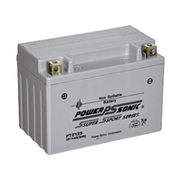 Power Sonic PTZ12S 12v 140ccA 11ahr Activated AGM Motorbike Battery (YTZ12S)