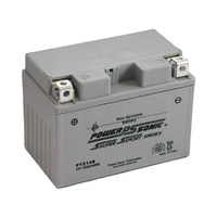 Power Sonic PTZ14S 12v 145ccA 11.2ahr Activated AGM Motorbike Battery (YTZ14S)