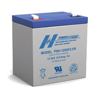 Power Sonic 12v 6ahr High Discharge Sealed AGM Battery