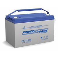 Power Sonic 12v 125ahr Deep Cycle Sealed AGM Battery