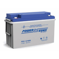 Power Sonic 12v 160ahr Deep Cycle Sealed AGM Battery