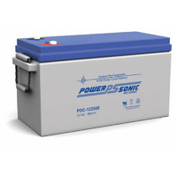 Power Sonic 12v 250ahr Deep Cycle Sealed AGM Battery