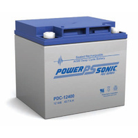 Power Sonic 12v 40.7ahr Deep Cycle Sealed AGM Battery