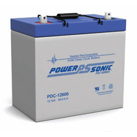 Power Sonic 12v 59ahr Deep Cycle Sealed AGM Battery