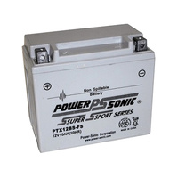 Power Sonic PTX20HBS-FS 12v 290ccA 20ahr Activated AGM Motorbike Battery