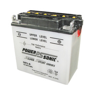 Power Sonic CB7L-B 12v 8ccA 20ahr Activated AGM Motorbike Battery