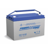 Power Sonic 12v 107.2ahr Deep Cycle Sealed AGM Battery