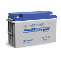 Power Sonic 12v 128ahr Deep Cycle Sealed AGM Battery
