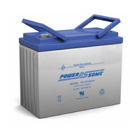Power Sonic 12v 140ahr Sealed AGM Battery