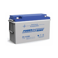 Power Sonic 12v 156ahr Sealed AGM Battery