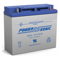 Power Sonic 12v 18ahr Sealed AGM Battery