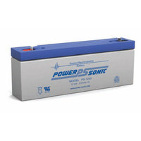 Power Sonic 12v 2.5ahr Sealed AGM Battery