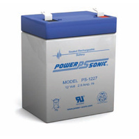 Power Sonic 12v 2.9ahr Sealed AGM Battery