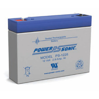 Power Sonic 12v 2.8ahr Sealed AGM Battery