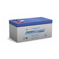 Power Sonic 12v 3.4ahr Sealed AGM Battery