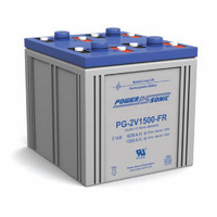 Power Sonic 2v 1500ahr Long Life Sealed AGM Battery
