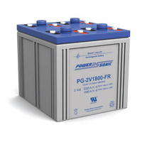 Power Sonic 2v 1800ahr Long Life Sealed AGM Battery