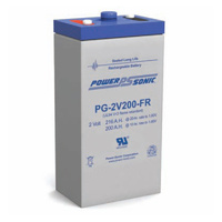 Power Sonic 2v 216ahr Long Life Sealed AGM Battery