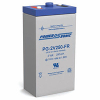 Power Sonic 2v 270ahr Long Life Sealed AGM Battery