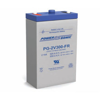 Power Sonic 2v 325ahr Long Life Sealed AGM Battery