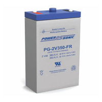 Power Sonic 2v 380ahr Long Life Sealed AGM Battery