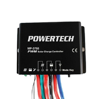 12/24v 20a PWM Weatherproof Solar Controller with Timer