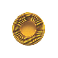 3M Roloc Abrasive Bristle Disc 25mm Yellow P80