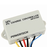 Water Resistant PWM Solar Charge Controller 12v 8a