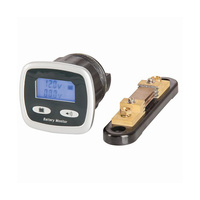 Dual Battery Digital Voltmeter and Current Meter