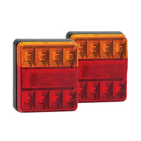 LED 12v Combination Stop Tail Trailer Lights