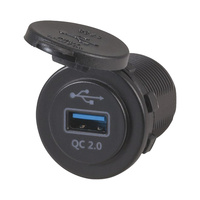Panel Mount Qualcomm Quick Charge 2.0 USB Charger