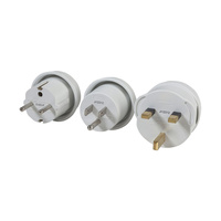Mains Travel Adaptor Complete Set