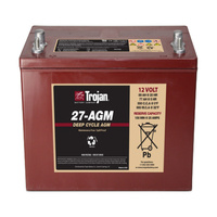 Trojan 12v 89ahr AGM Deep Cycle Battery