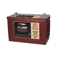Trojan 12v 100ahr AGM Deep Cycle Battery