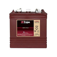 Trojan 6v 210ahr Flooded Deep Cycle Lead Acid Battery