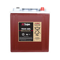 Trojan 6v 210ahr GEL Deep Cycle Battery (TE35-GEL)