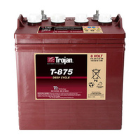Trojan 8v 170ahr Flooded Deep Cycle Lead Acid Battery (T-875)