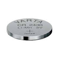 Varta CR2430 Primary Lithium Button Cell Battery