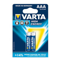 Varta High Energy Alkaline AAA 2 Pack - Carton Lots
