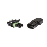 Waterproof Two Pin Connector (Pair)