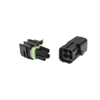Waterproof Four Pin Connector (Pair)
