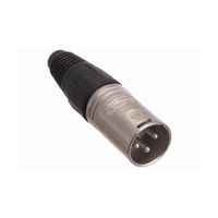 Male 3 Pin XLR / Canon In Line Connector
